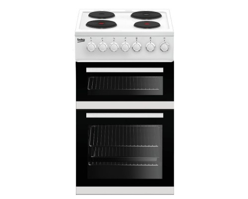 Beko EDP503W Electric Double Oven with grill Double Oven Cooker - White - A Energy Rated