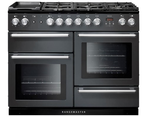 Rangemaster nexus 110 cm- Dual fuel , slate and chrome